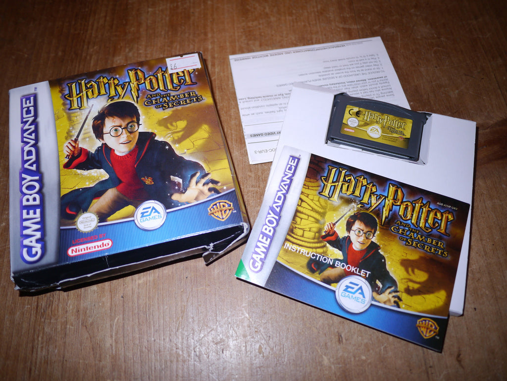 Harry Potter & The Chamber of Secrets (Game Boy Advance)