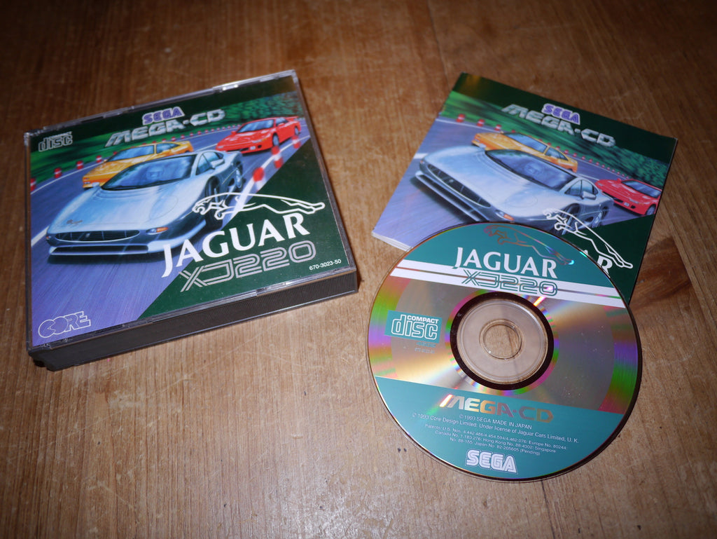 Jaguar XJ220 (Mega-CD)
