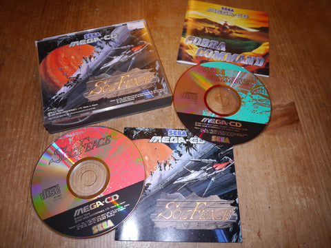 Sol-Feace / Cobra Command (Mega-CD)