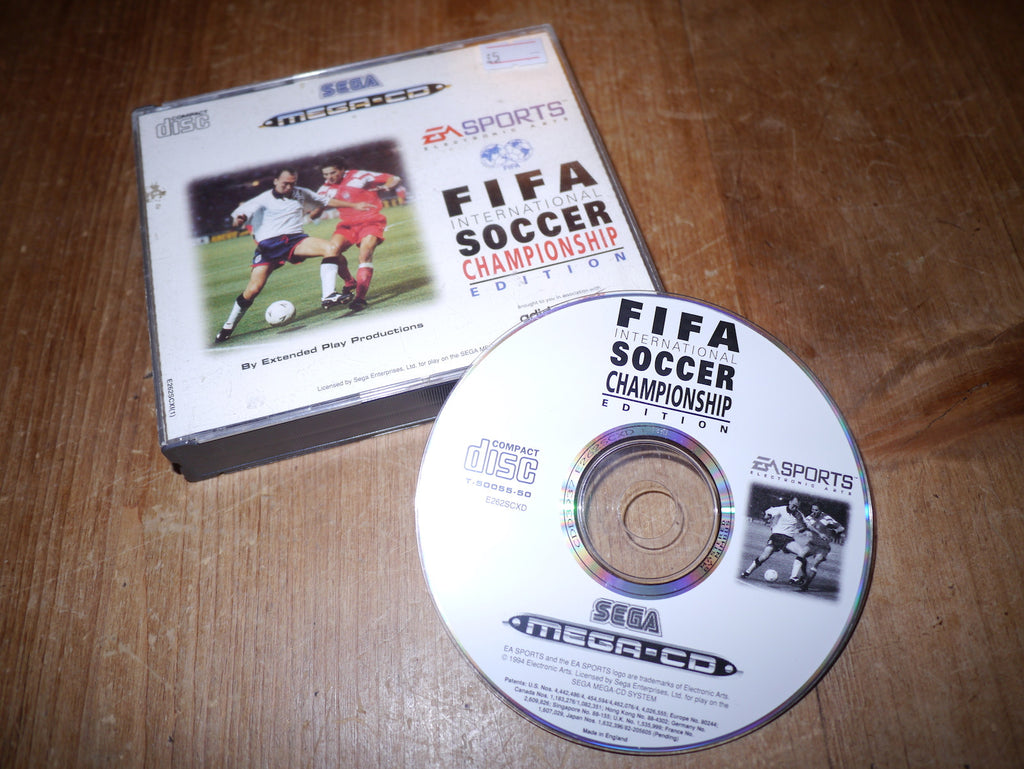 FIFA International Soccer - Championship Edition (Mega-CD)