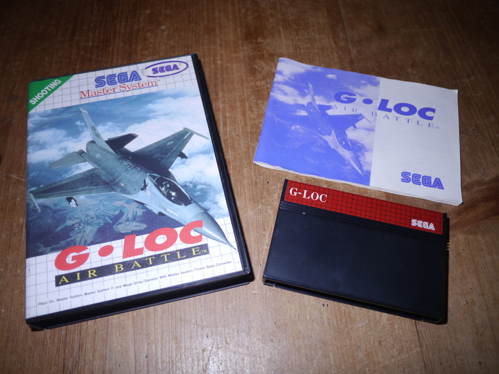 G-Loc Air Battle (Master System)