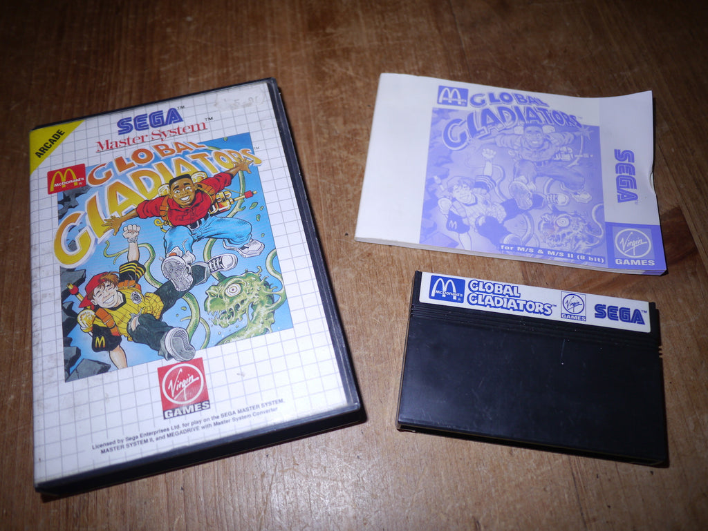 Global Gladiators (Master System)