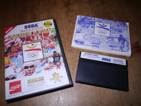 Olympic Gold: Barcelona '92 (Master System)