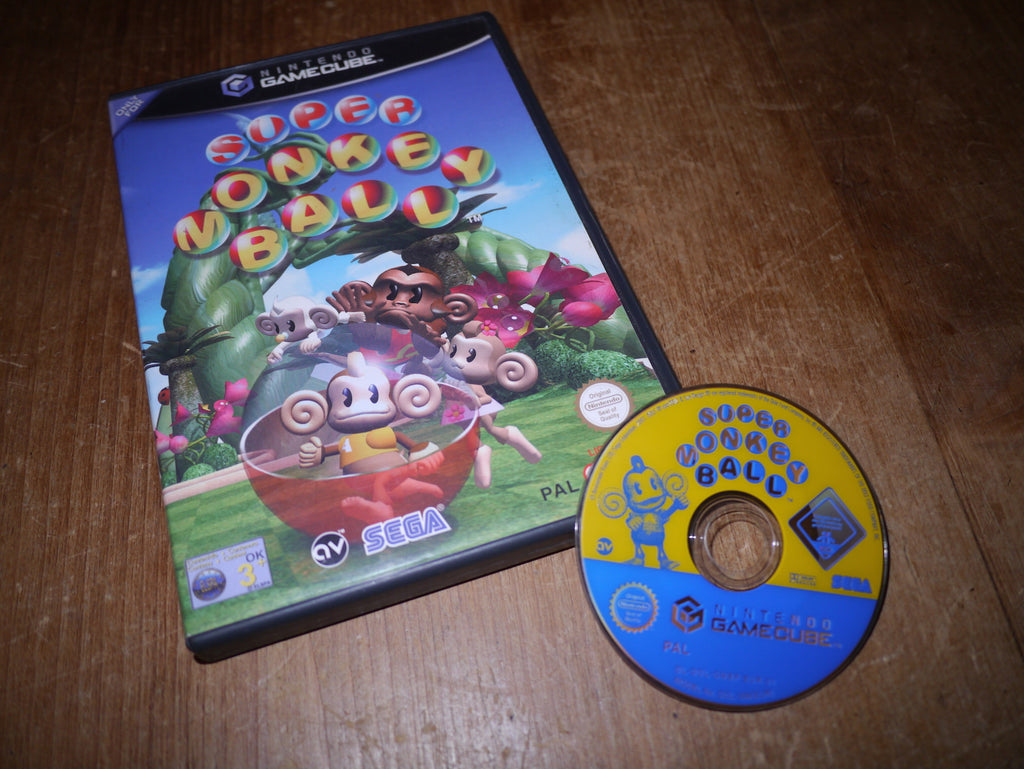 Super Monkey Ball (GameCube)