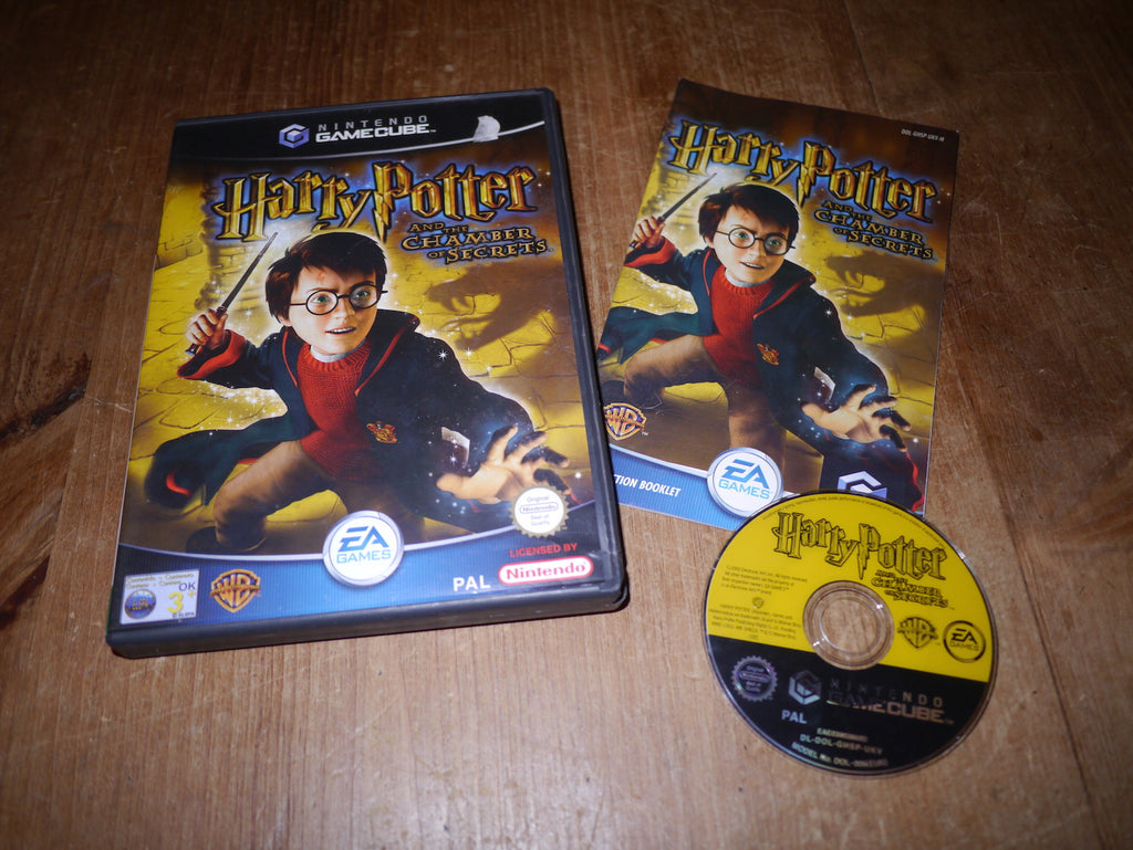 Harry Potter & The Chamber of Secrets (GameCube)