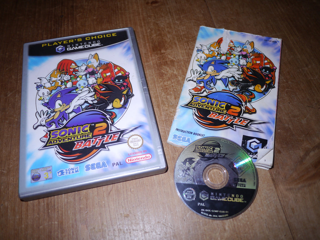 Sonic Adventure 2: Battle (Player's Choice) (GameCube)