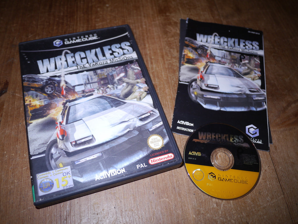 Wreckless: The Yakuza Missions (GameCube)