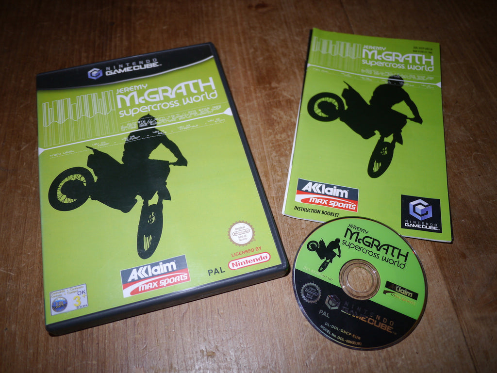 Jeremy McGrath Supercross World (GameCube)