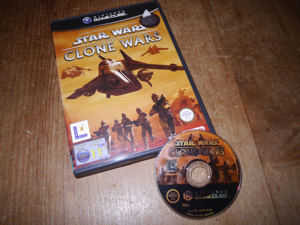 Star Wars: The Clone Wars (GameCube)