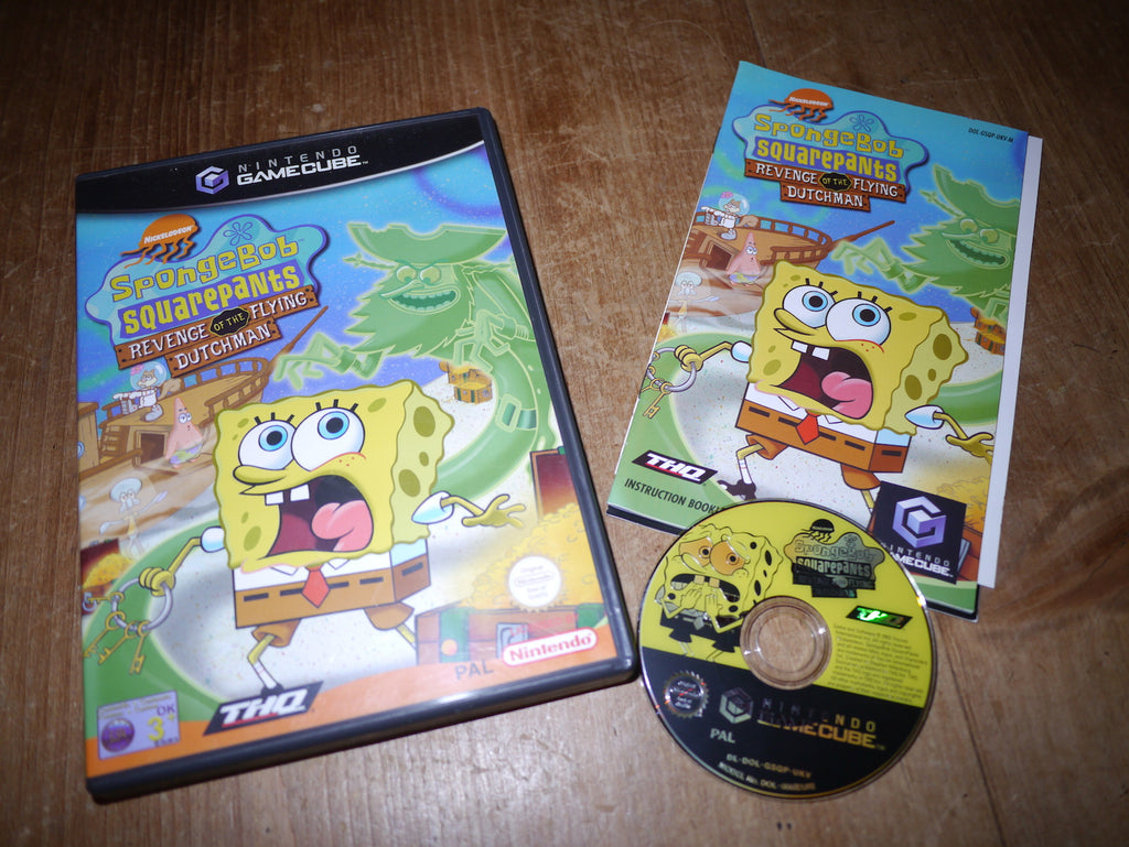 Spongebob Squarepants: Revenge of the Flying Dutchman (GameCube)