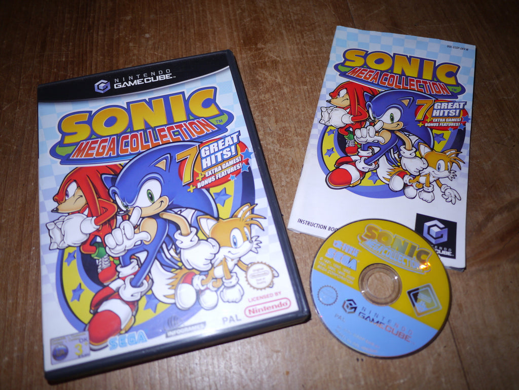 Sonic Mega Collection (GameCube)