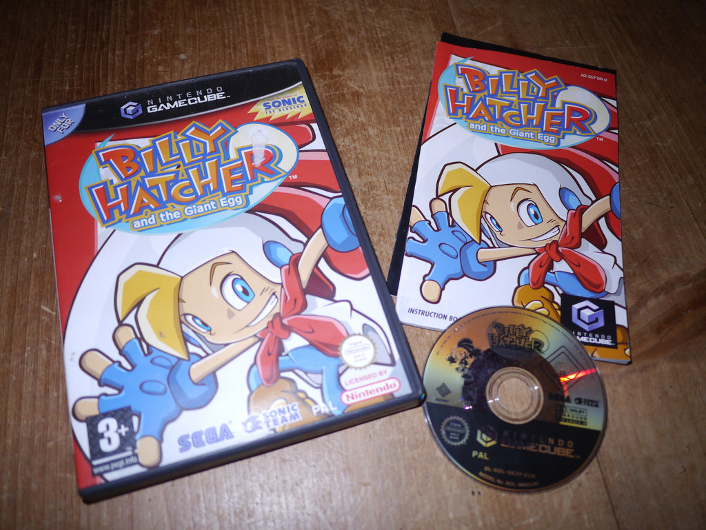 Billy Hatcher & The Giant Egg (GameCube)