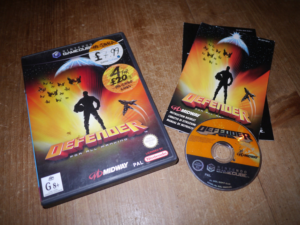 Defender for all Mankind (GameCube)