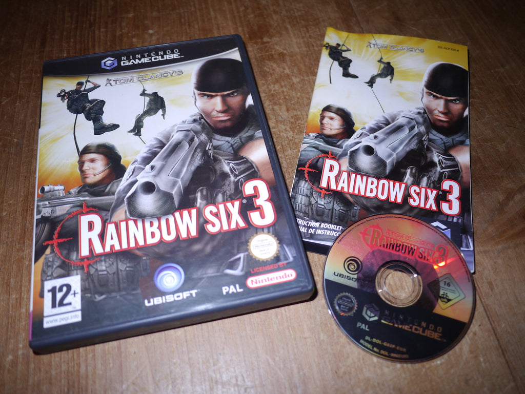 Tom Clancy's Rainbow Six 3 (GameCube)