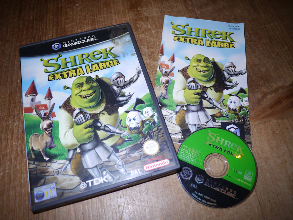 Shrek: Extra Large (GameCube)