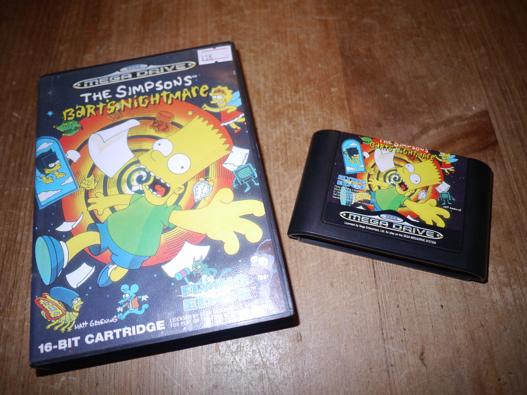The Simpsons: Bart's Nightmare (Mega Drive)