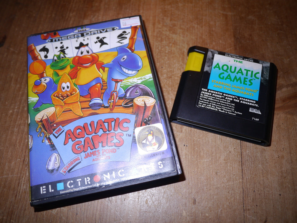 Aquatic Games starring James Pond and the Aquabats (Mega Drive)