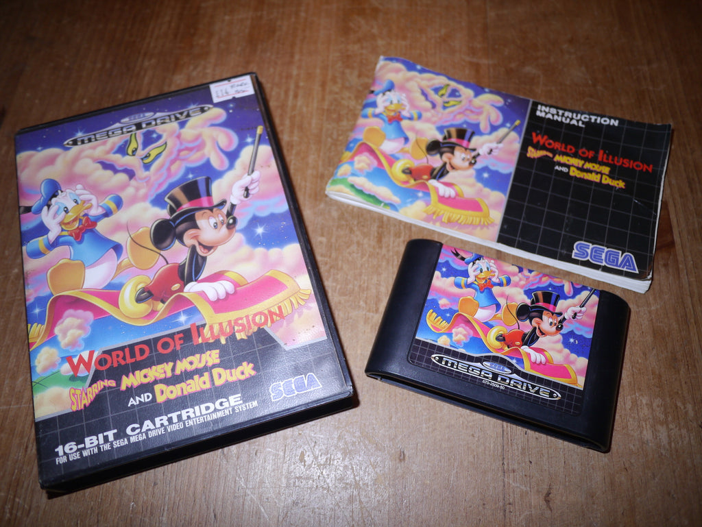 World of Illusion starring Mickey Mouse & Donald Duck (Mega Drive)