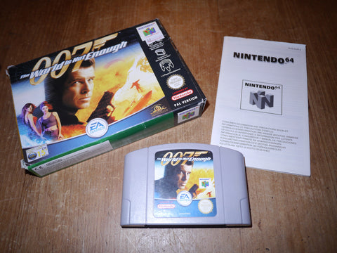 007: The World is Not Enough (N64)