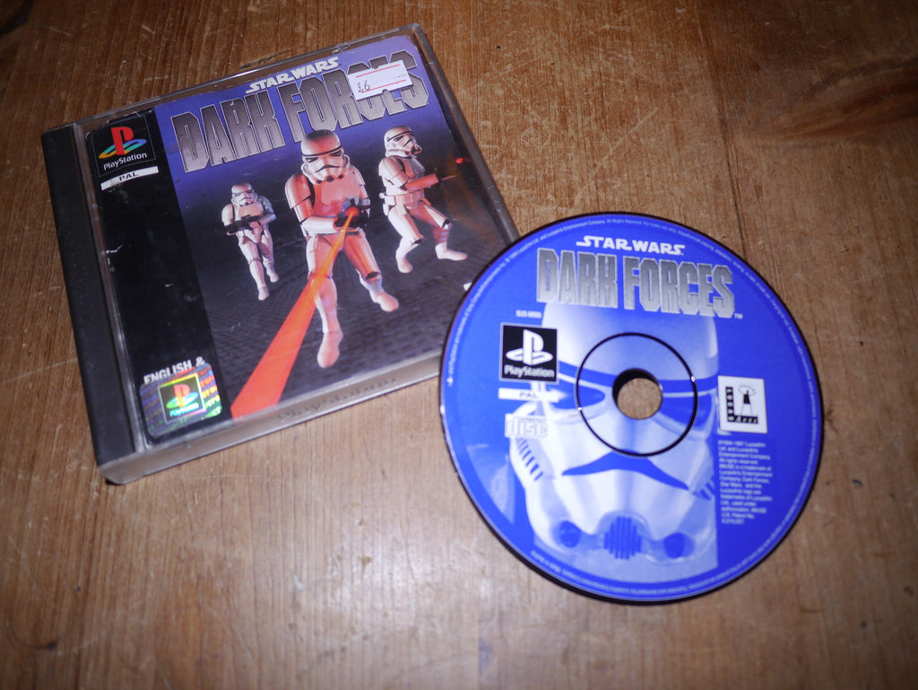 Star Wars: Dark Forces (Playstation)