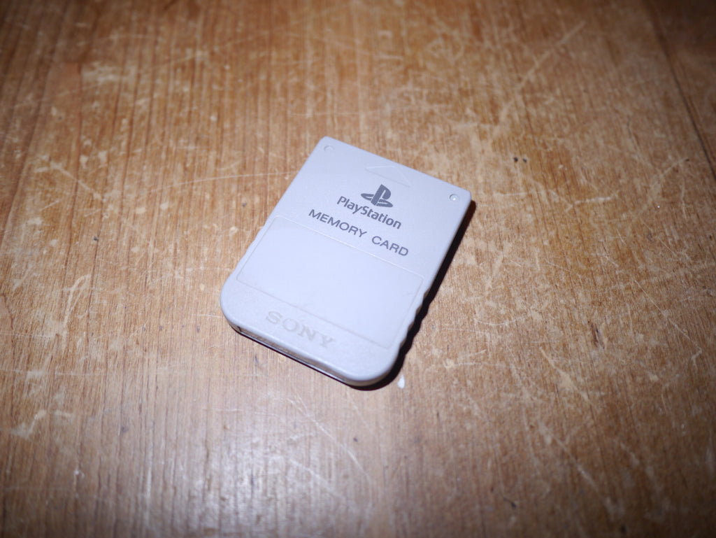 Sony Playstation 1/PS1 Memory Card