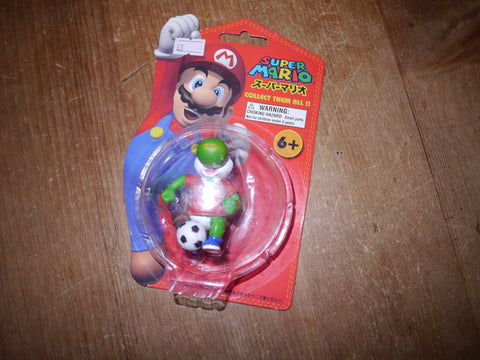 Nintendo Super Mario Brothers Manchester United Yoshi Football Figure Keyring