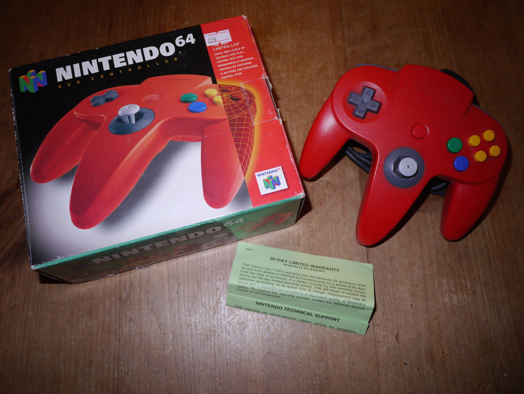 Nintendo N64 Boxed Red Controller