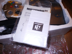 Nintendo N64 with Limited Edition Gold Controller