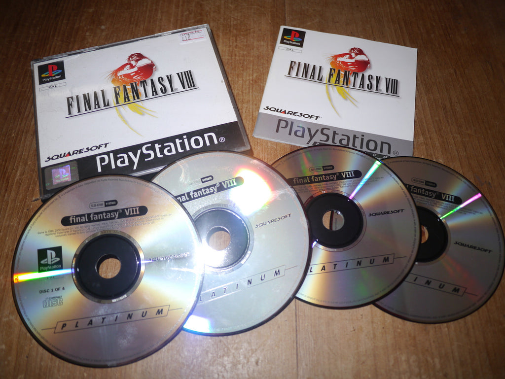 Final Fantasy VIII (8) (Playstation)