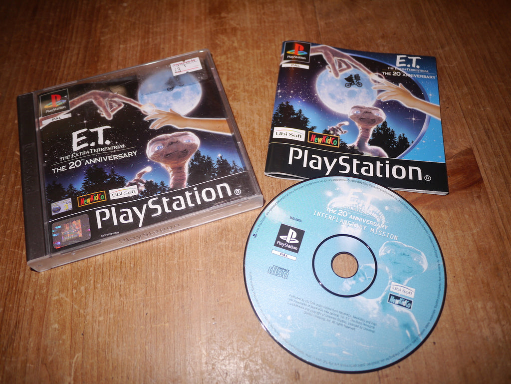 E.T. The Extra-Terrestrial: The 20th Anniversary (Playstation)