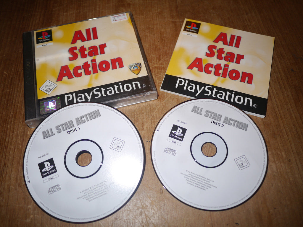All Star Action (Playstation)