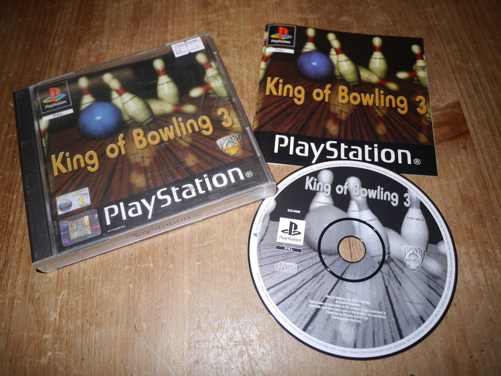 King of Bowling 3 (Playstation)