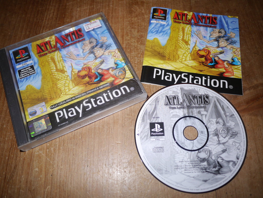 Atlantis: The Lost Continent (Playstation)
