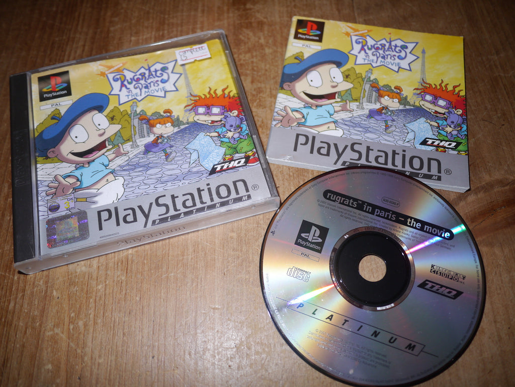 Rugrats in Paris: The Movie (Platinum Playstation)