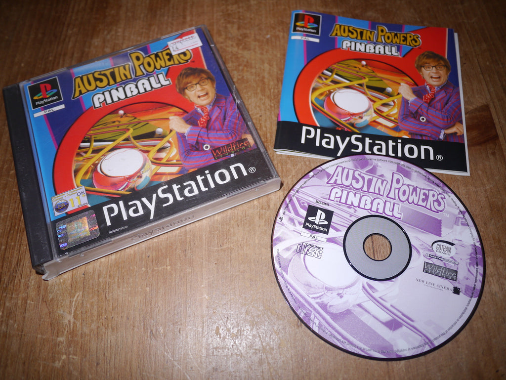 Austin Powers Pinball (Playstation)