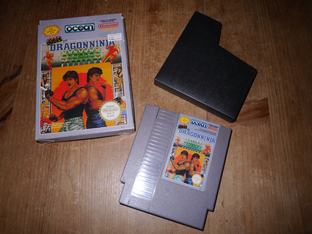 Bad Dudes vs. Dragonninja (NES)