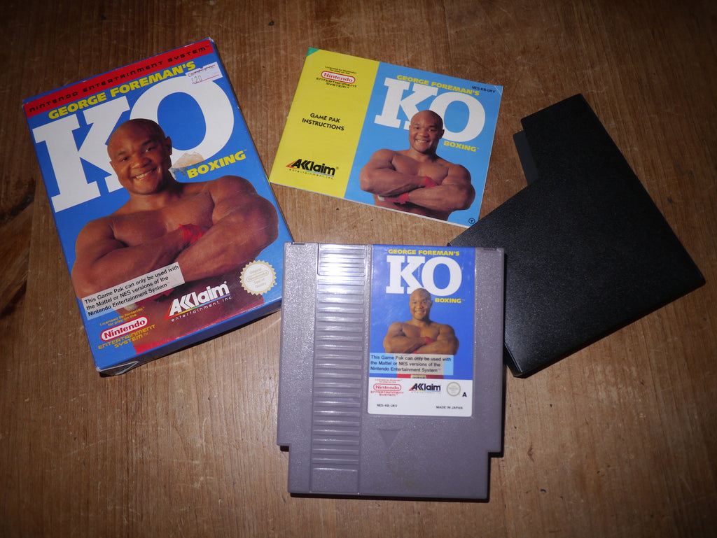 George Foreman's KO Boxing (NES)