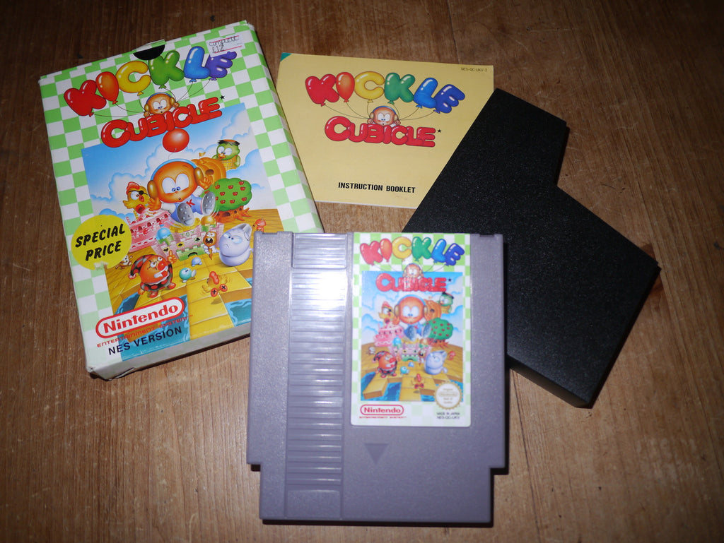 Kickle Cubicle (NES)