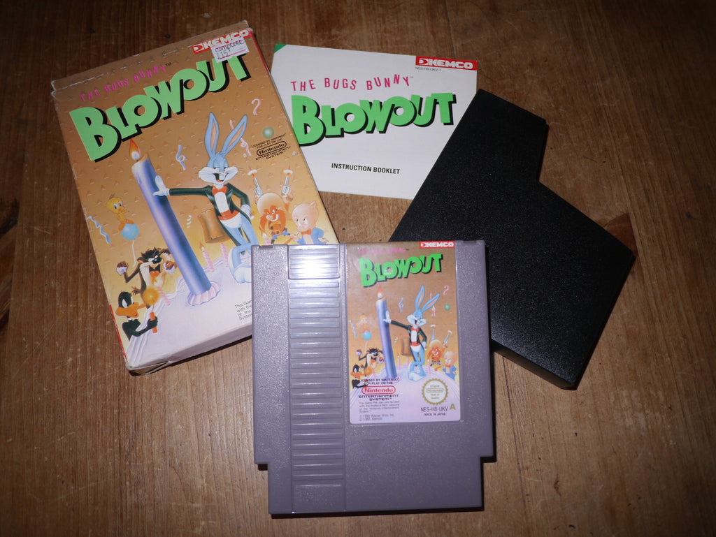The Bugs Bunny Blowout (NES)