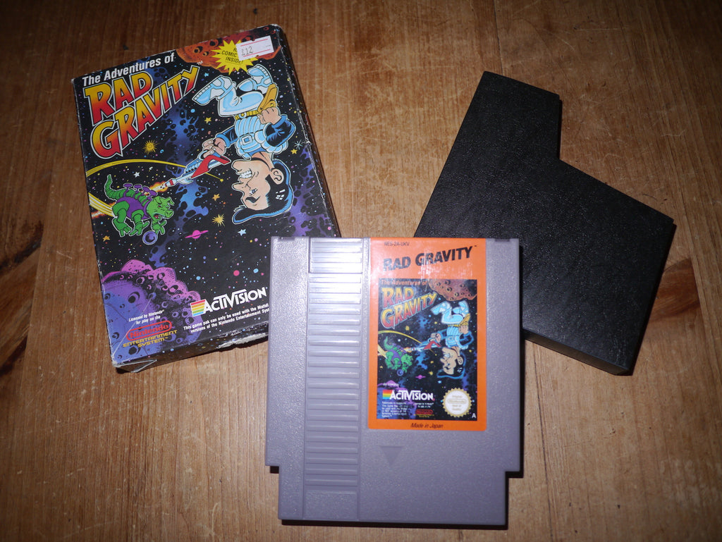 The Adventures of Rad Gravity (NES)