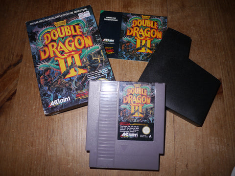 Double Dragon III (3) (NES)
