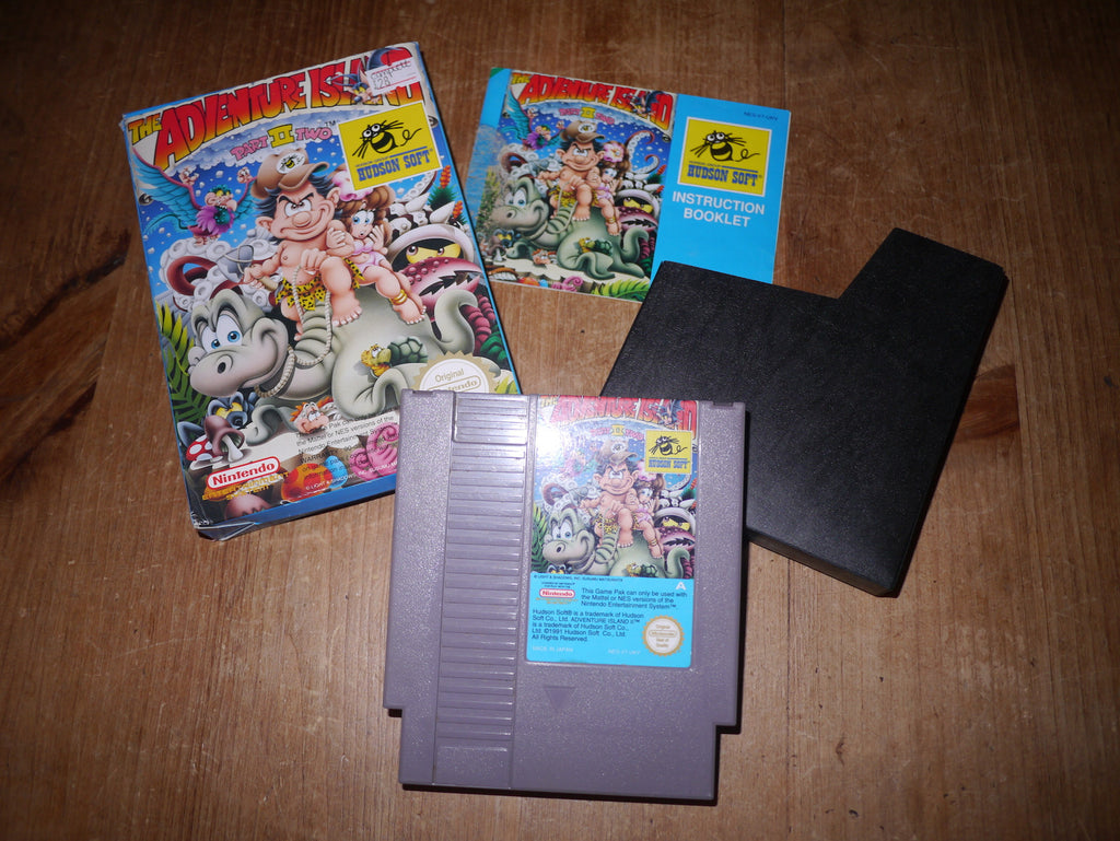 The Adventure Island: Part Two (NES)