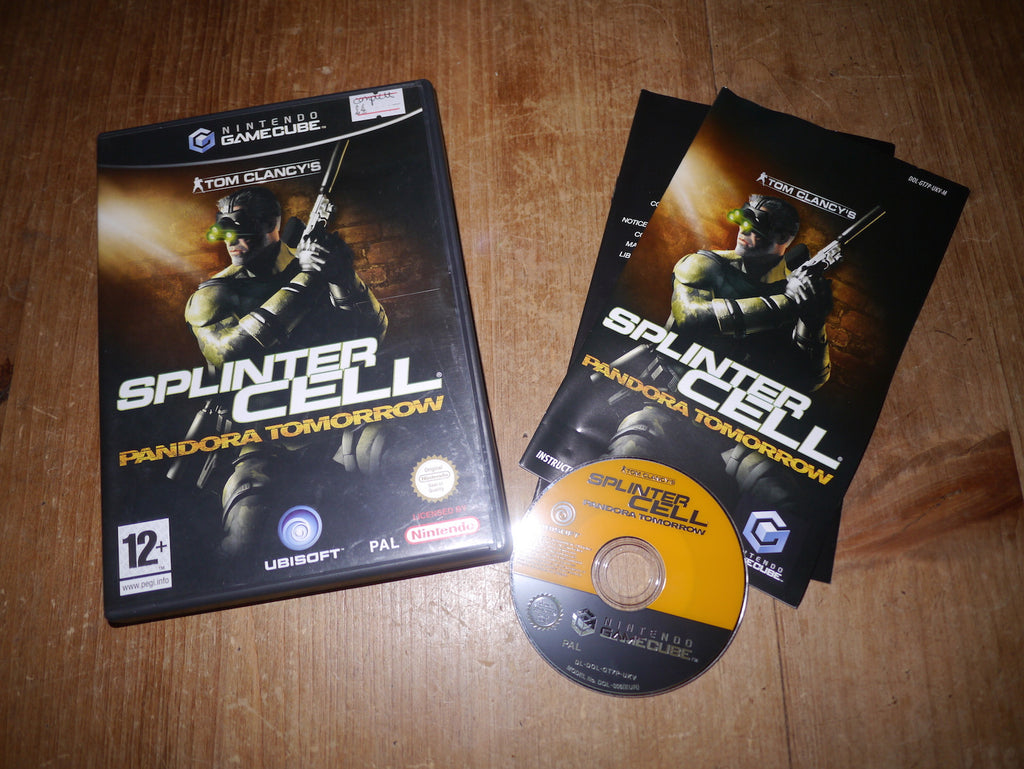 Tom Clancy's Splinter Cell: Pandora Tomorrow (GameCube)