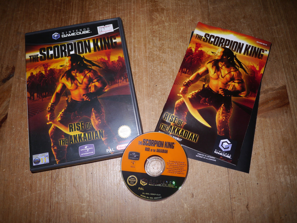 The Scorpion King: Rise of the Akkadian (GameCube)