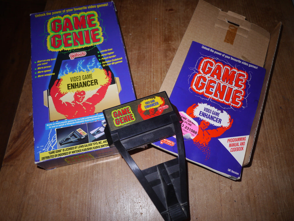 Boxed Game Genie Video Game Enhancer