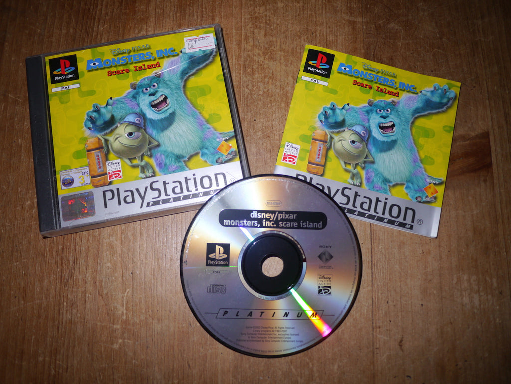 Monsters, Inc.: Scare Island (Platinum Playstation)