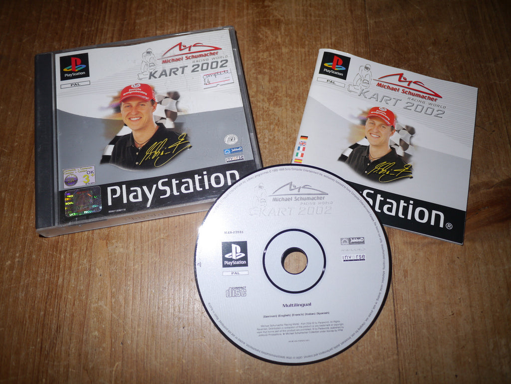 Michael Schumacher Racing World: Kart 2002 (Playstation)