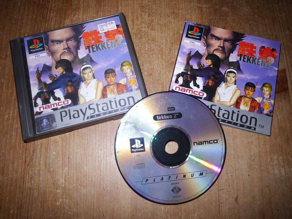 Tekken 2 Platinum (Playstation)
