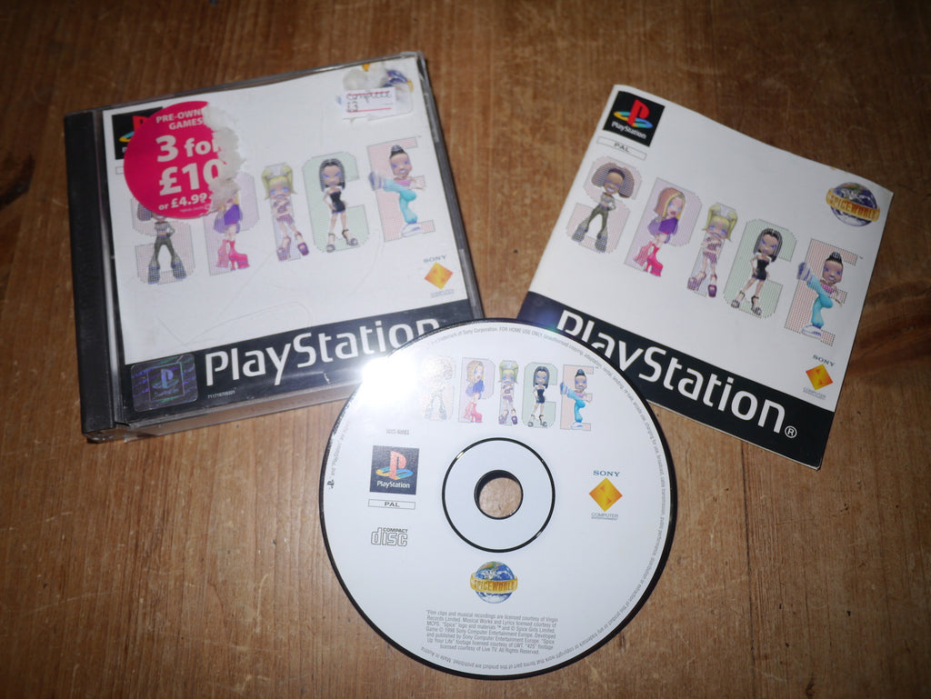 Spice World (Playstation)