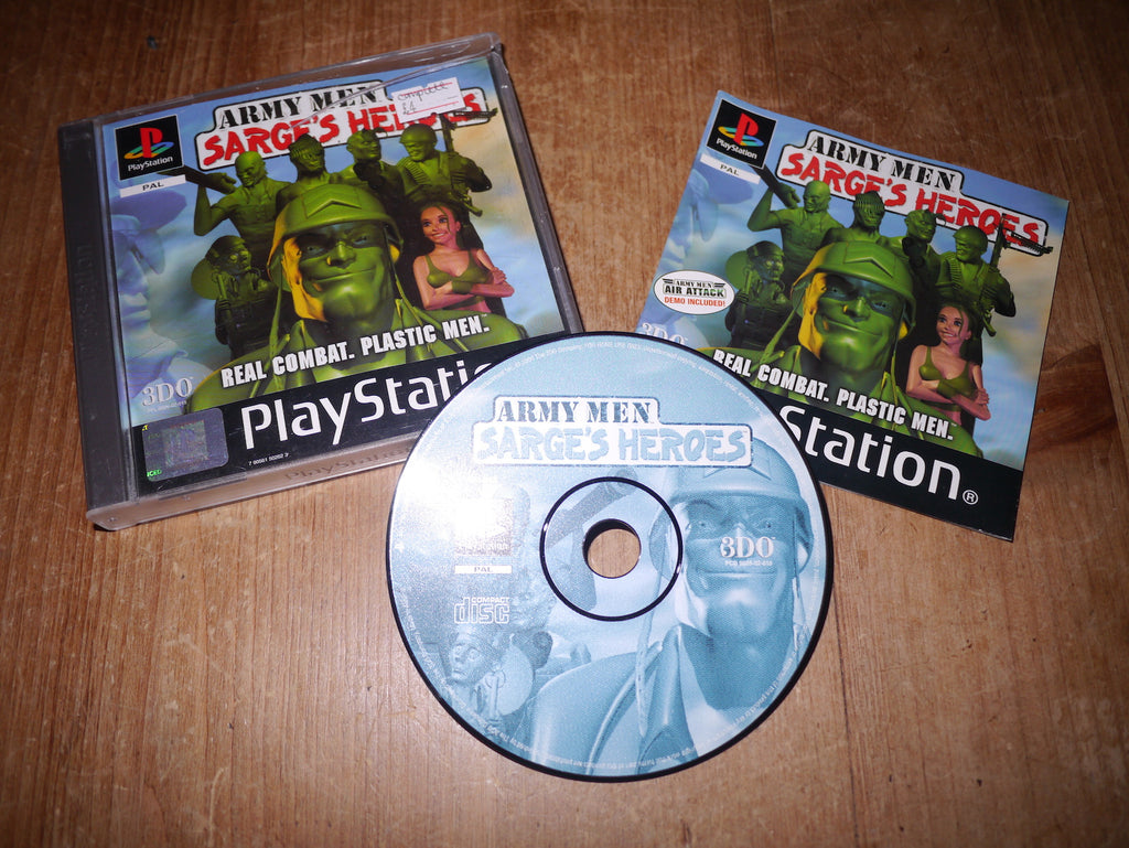 Army Men: Sarge's Heroes (Playstation)
